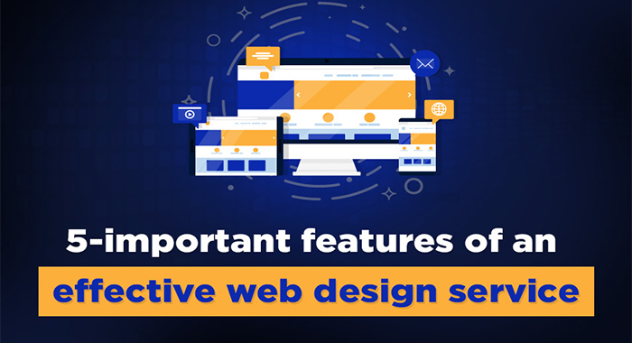 5-important features of an effective web design service
