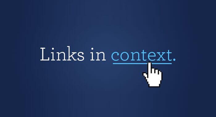 Contextual-Link-Building