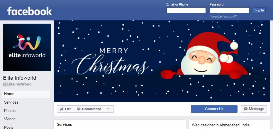 Elite Infoworld Facebook profile